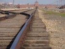 Concentration camp with rail line