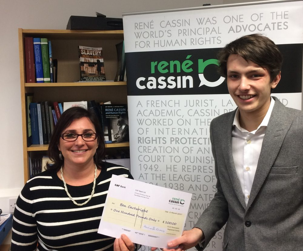 ren eacute cassin modern slavery human writes essay competition joshua said begins a good summary of the problem and its causes realistic about the difficulties of a solution compares favourably the essays